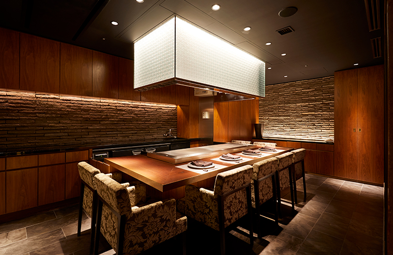 Private room for Teppan-yaki